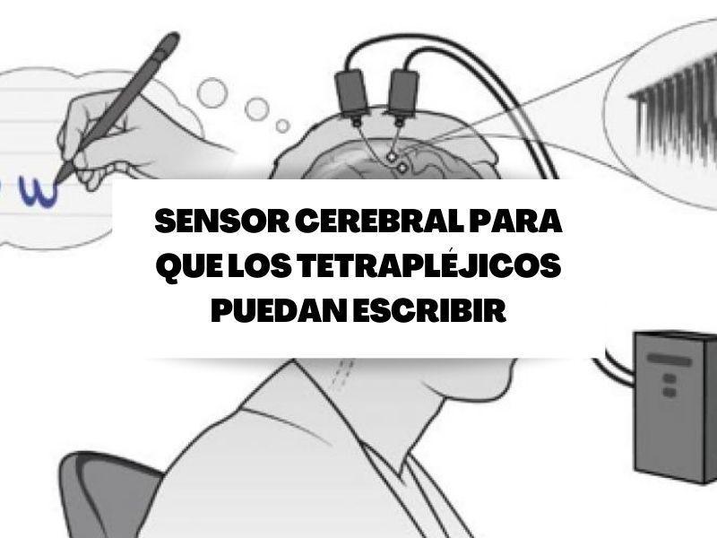 Desarrollan un sensor cerebral que permite a tetrapléjicos 'escribir a mano'